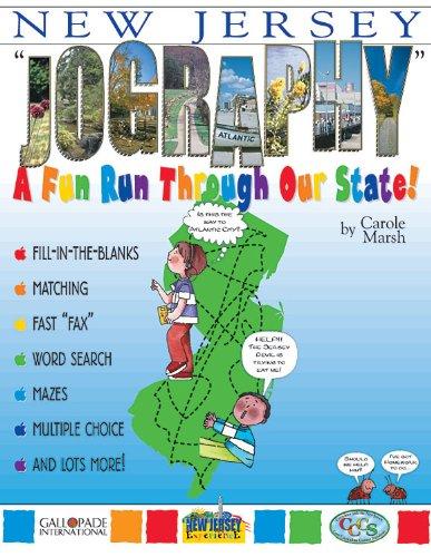 New Jersey Jography!: A Fun Run Thru Our State,PB,Carole Marsh - NEW