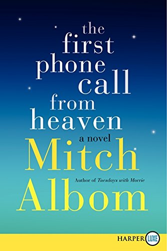 The First Phone Call from Heaven,PB,Mitch Albom - NEW