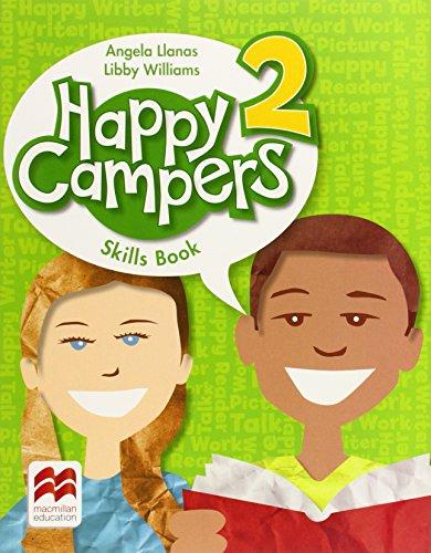 Happy Campers Level 2 Skills Book,PB,Angela Llanas - NEW