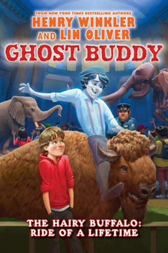 Ghost Buddy #4: Always Dance with a Hairy Buffalo - Library Edition,HC,Henry Wi