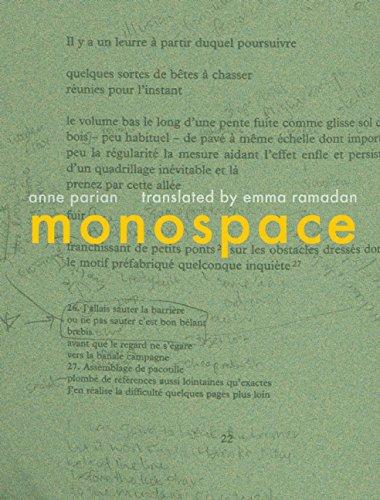 Monospace,PB,Anne Parian - NEW