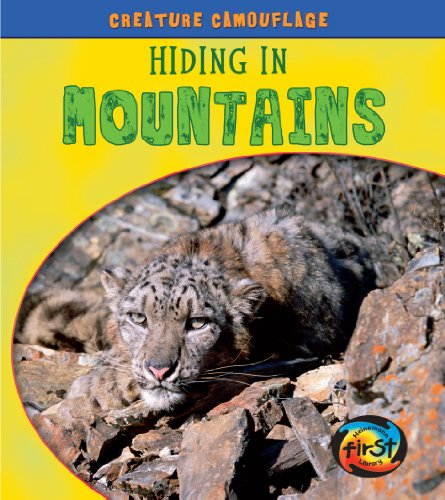 Hiding in Mountains (Creature Camouflage),LI,Deborah Underwood - NEW